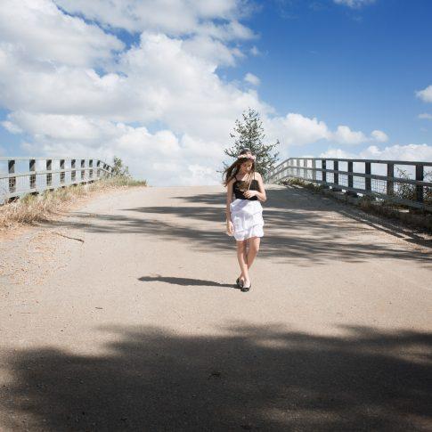 צילומי בוק בת מצווה על גשר