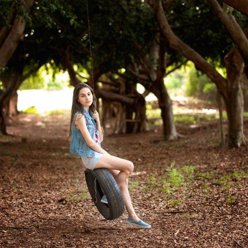בוק בת מצווה נדנדה ביער