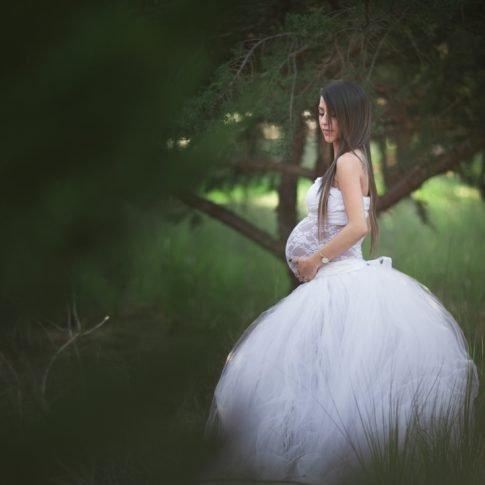 דנה צילום הריון ביער