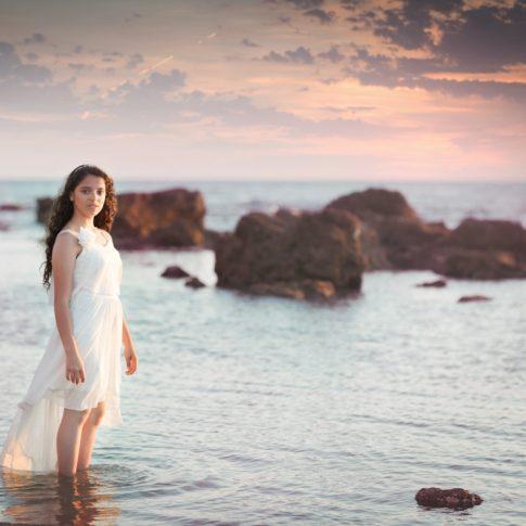 הילה בוק בת מצווה בים