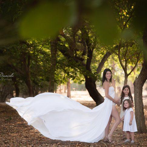 צילומי הריון ומשפחה בטבע במרכז הארץ