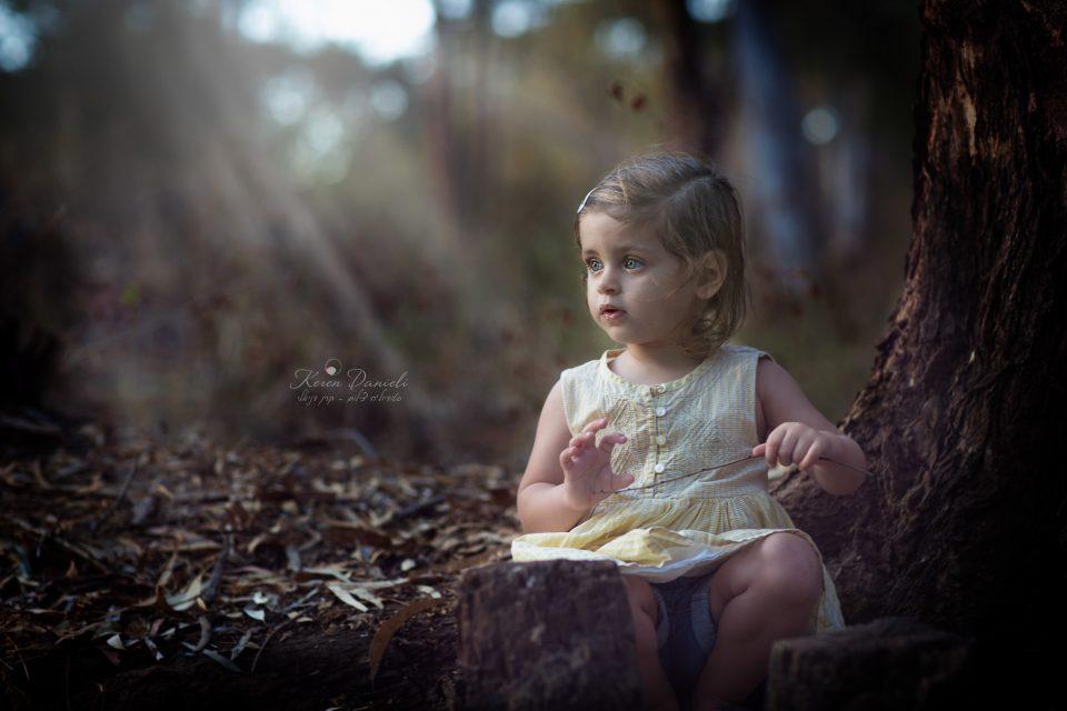 צילום ילדים ביער קסום