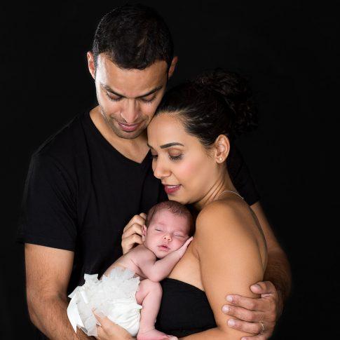 צילומי ניו בורן ומשפחה בשחור