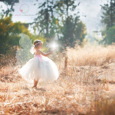 צילומי ילדים בהפקת פיה ביער