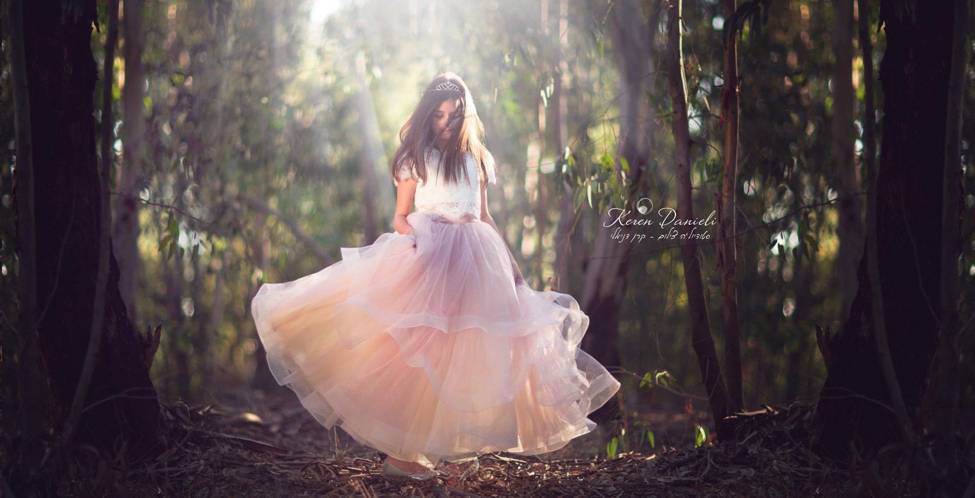 צילומי בוק בת מצווה של אליה ביער