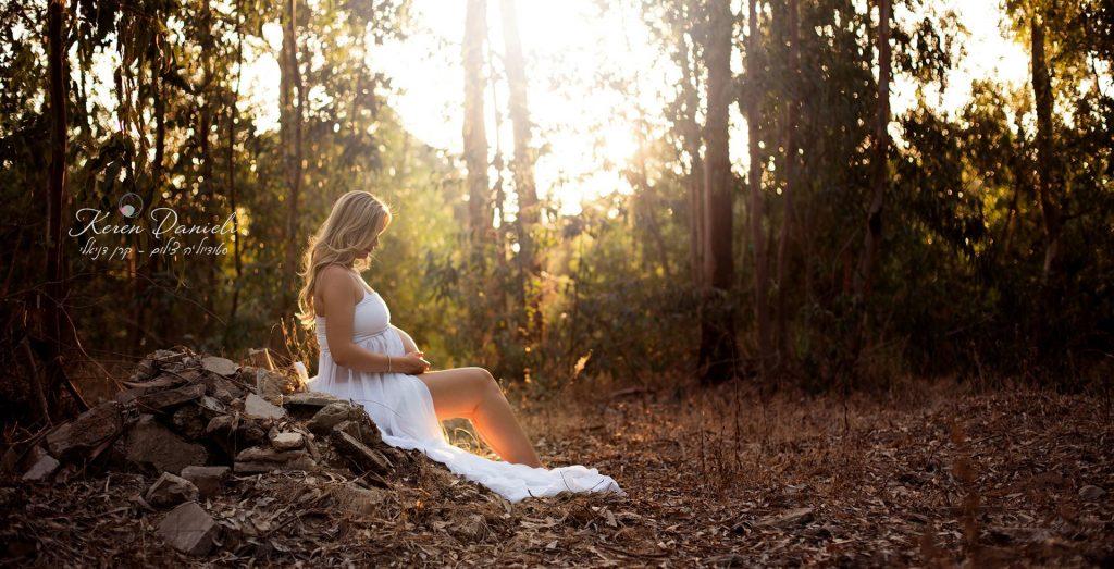 צילומי הריון בשרון של אורטל