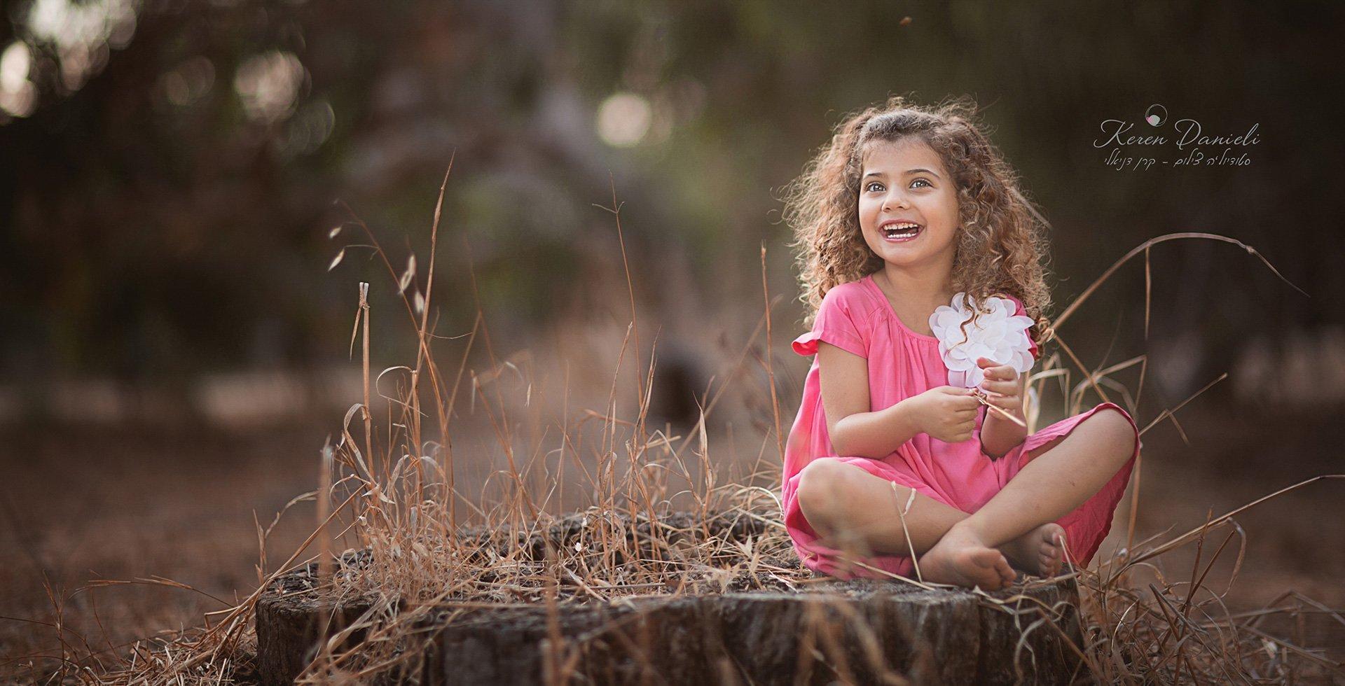 צילומי ילדים ביער בשרון