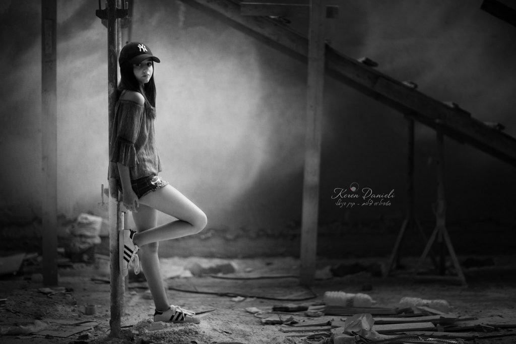 צילומי בוק בת מצווה בבית בבניה