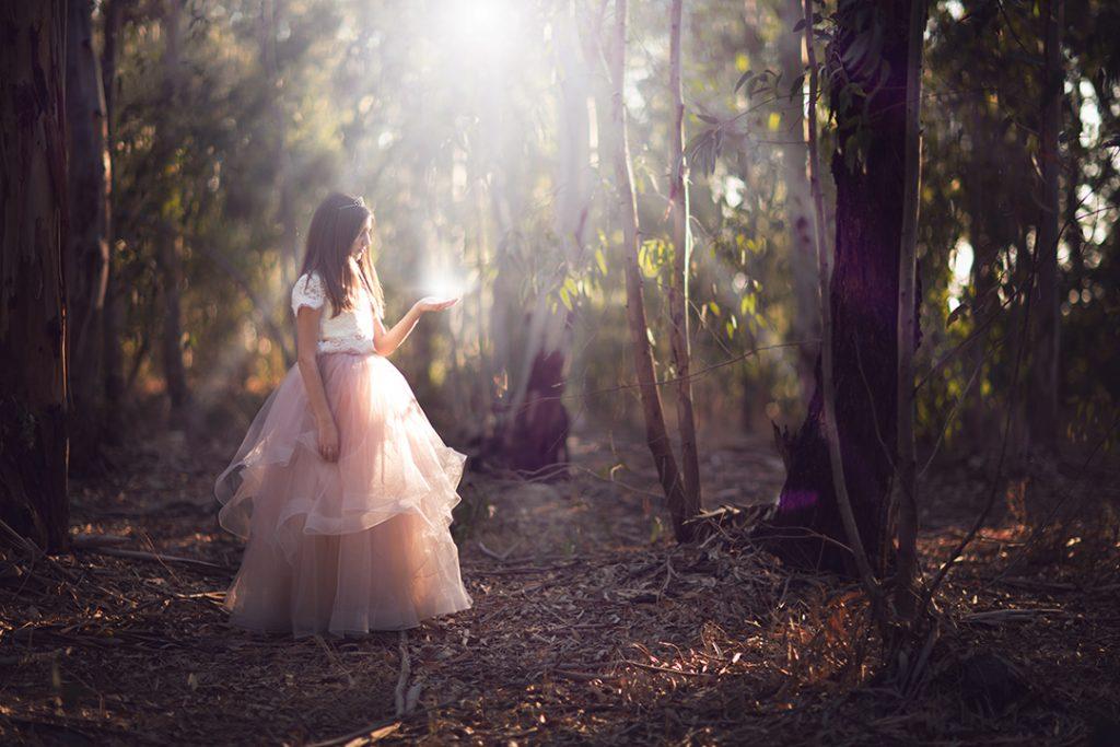 אליה בבוק בת מצווה ביער