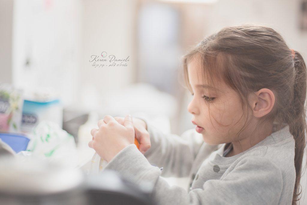 נוגה צילומי ילדים מקרוב