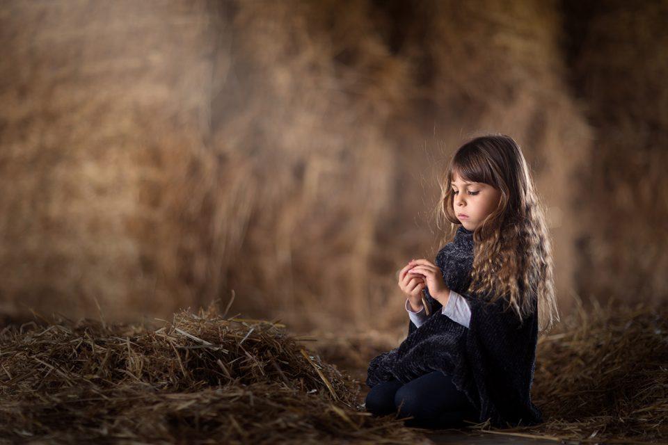 צילומי ילדים חציר